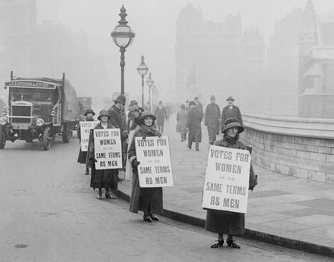 votes for women UK suffragists