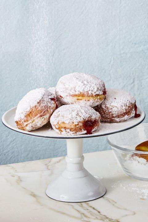 sufganiyot jelly donuts - hanukkah foods