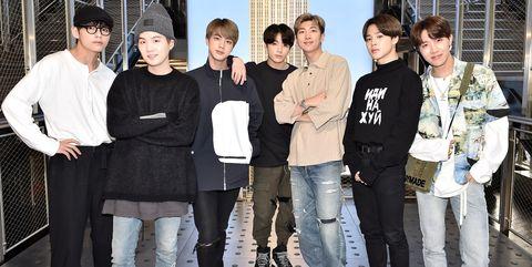 Empire State Building Hosts K-Pop Group BTS