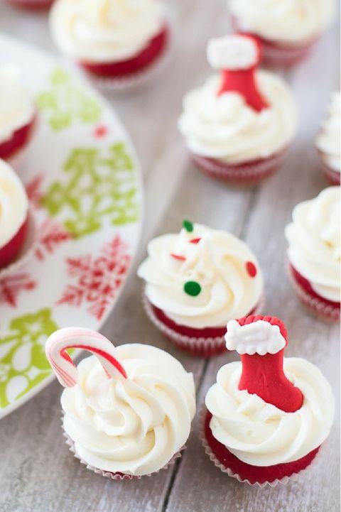 Christmas Cupcakes - Sugar Cookie BitesCupcakes