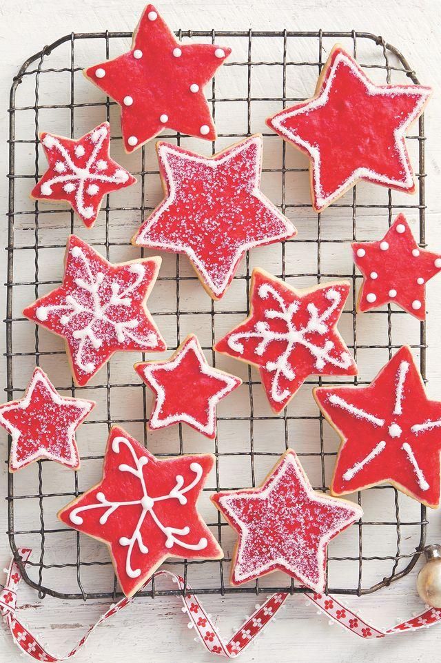 sugar cookies star shape