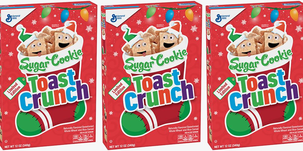 Sugar Cookie Toast Crunch Will Be Back On Shelves Long Before The Holidays