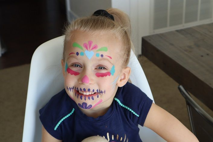 20 Easy Halloween Face Paint Ideas , Halloween Makeup Ideas