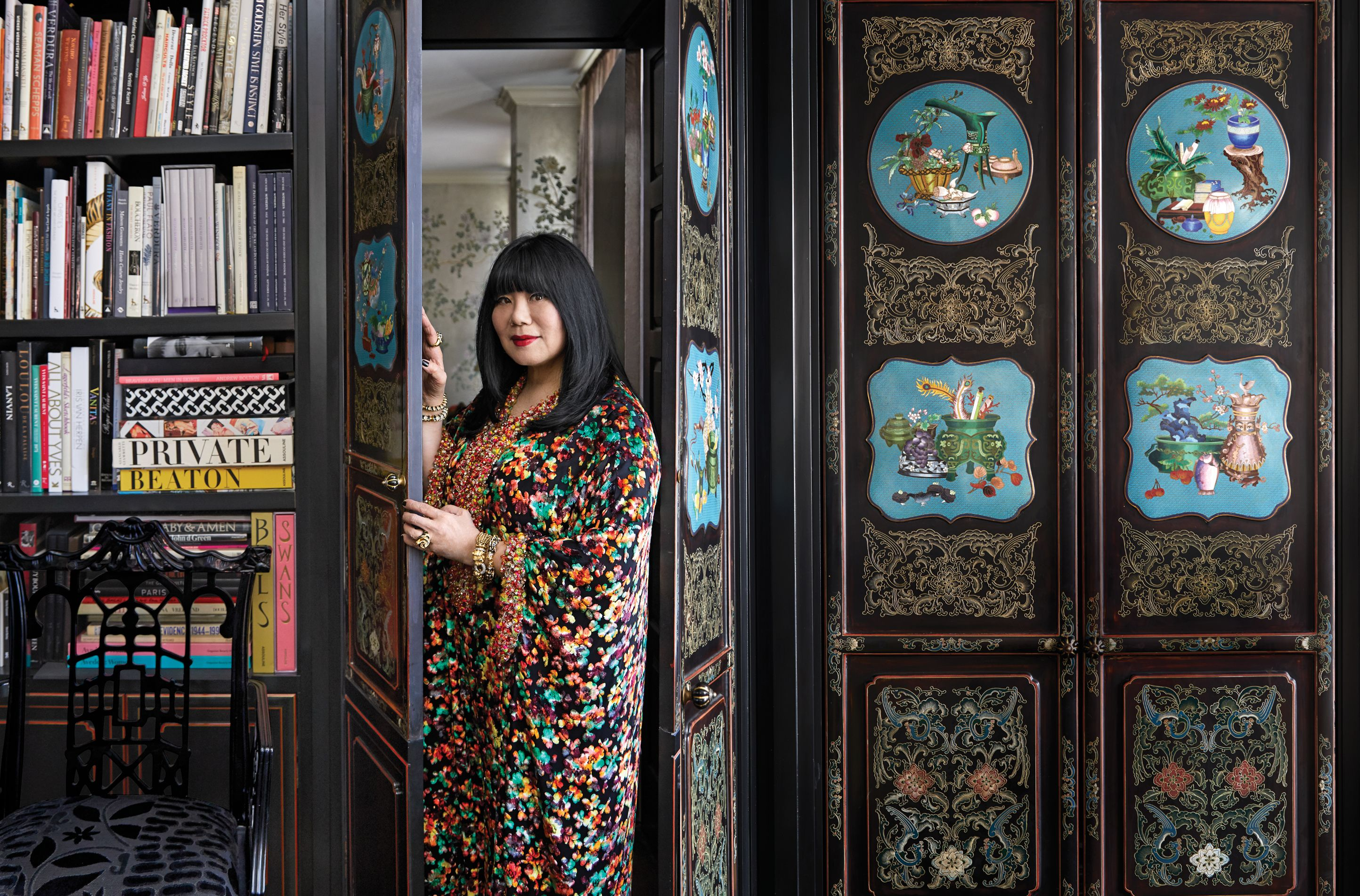 Inside Anna Sui's Stunning Greenwich Village Apartment
