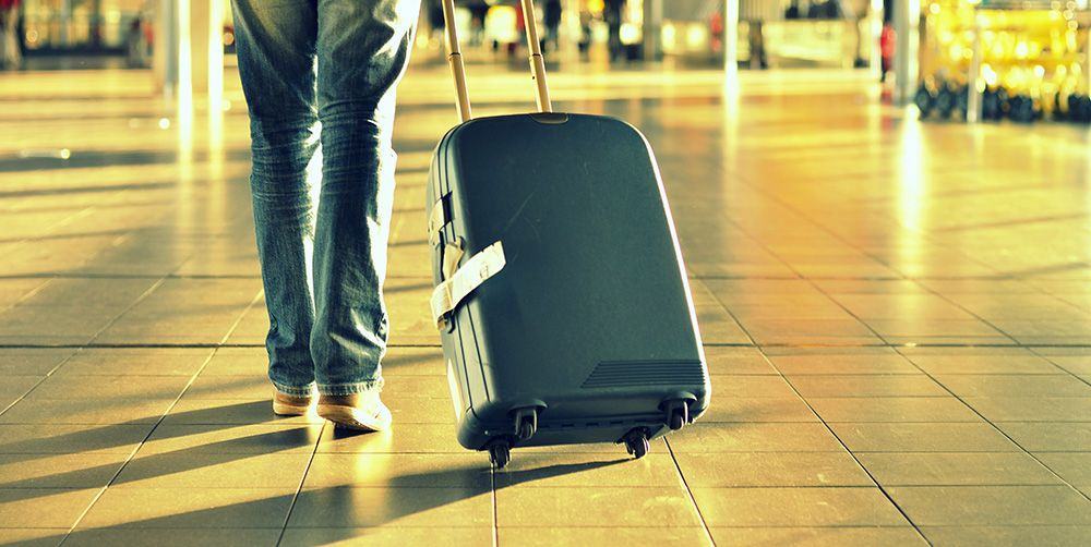 This is how to stop your suitcase falling over on its wheels