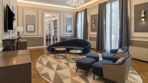 Suite del hotel Santo Mauro