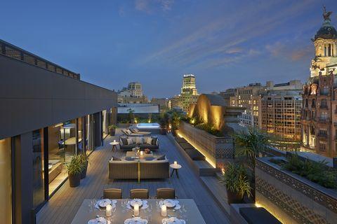 Suite Barcelona del hotel Mandarin Oriental