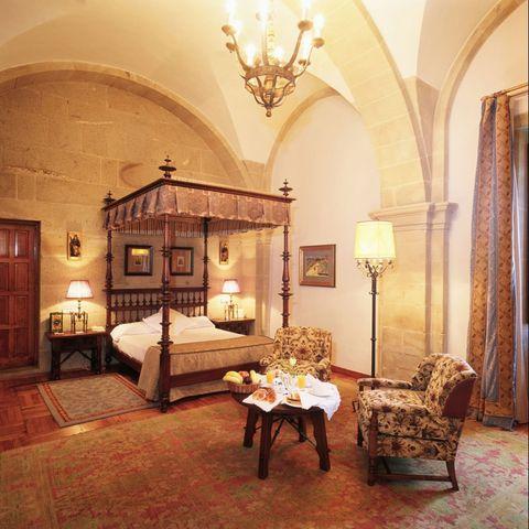 Suite del Parador de Santiago de Compostela