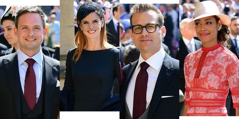 Suits Cast At Royal Wedding - Which Suits Cast Members ...