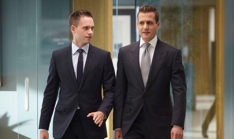 Suit, Formal wear, Tuxedo, White-collar worker, Blazer, Businessperson, Outerwear, Gesture, Business, Management,