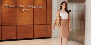 Meghan Markle in Suits - Rachel Zane