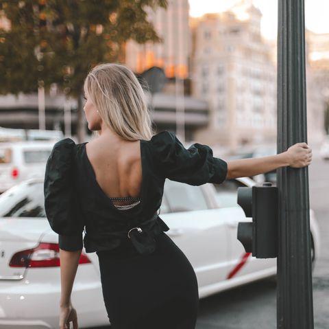 sujetador vestido espalda descubierto chikback