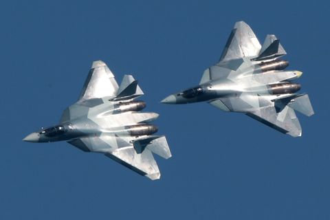 What's Going on With Russia's New Stealth Fighter?