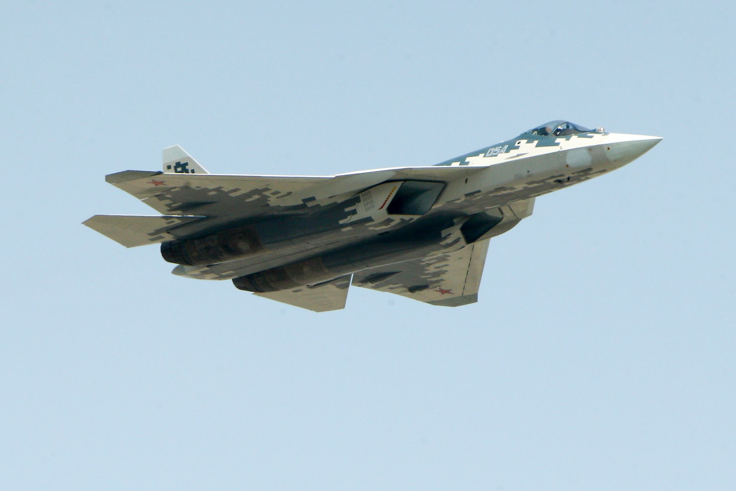 Ten Years Later, Russia Finally Begins Production of the Su-57 Stealth Fighter