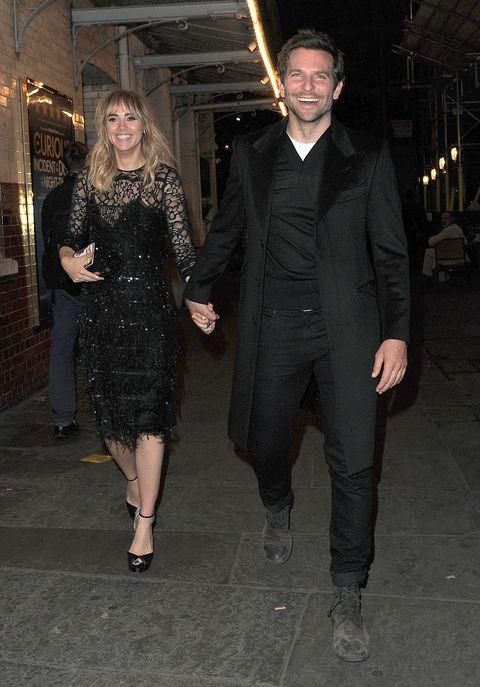 Suki Waterhouse and Bradley Cooper in London