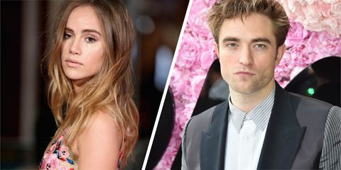 Robert Pattinson and Suki Waterhouse are now dating and kissing in the street