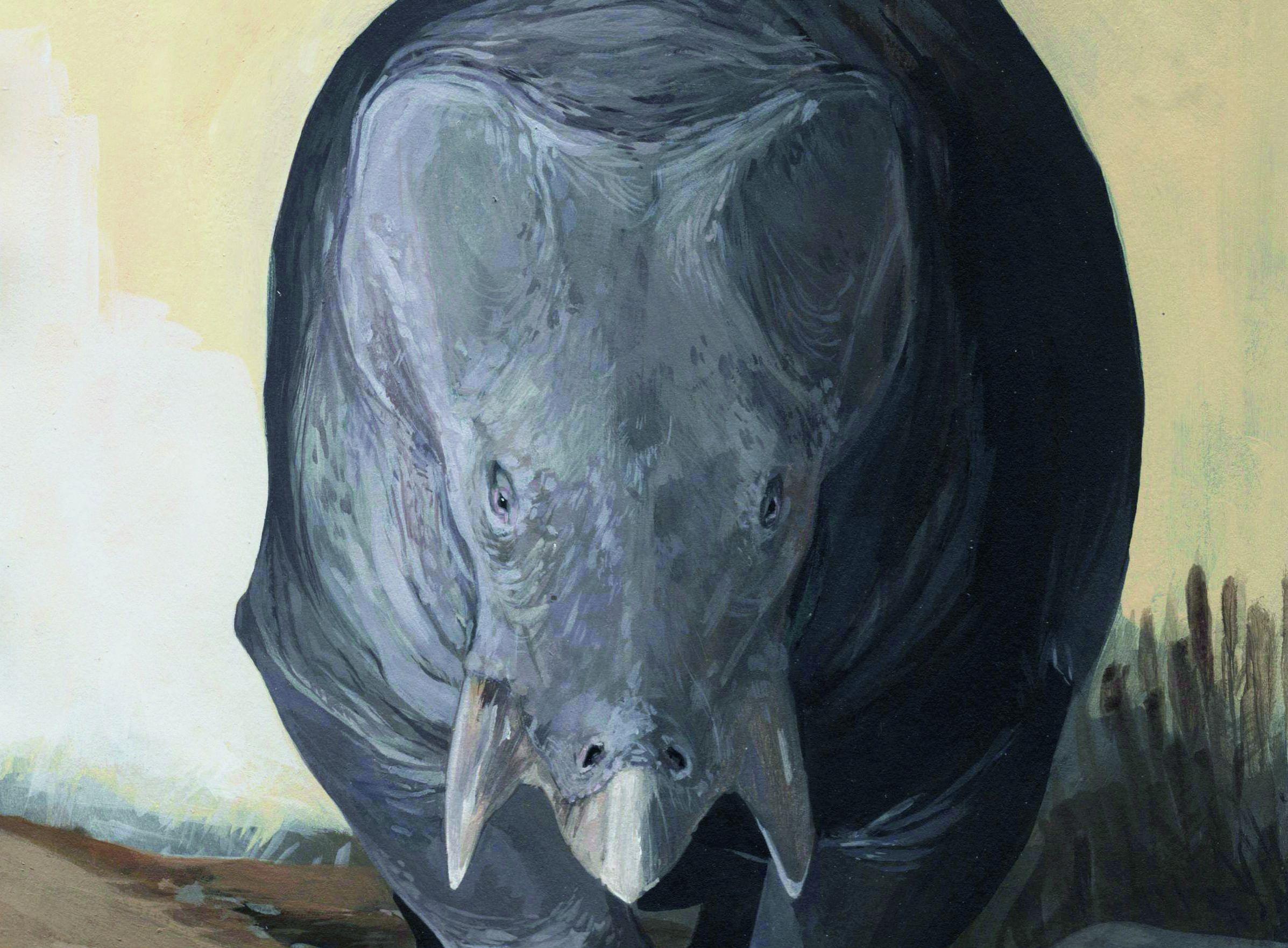 An Elephant-Size Mammal Relative Roamed Among Dinosaurs