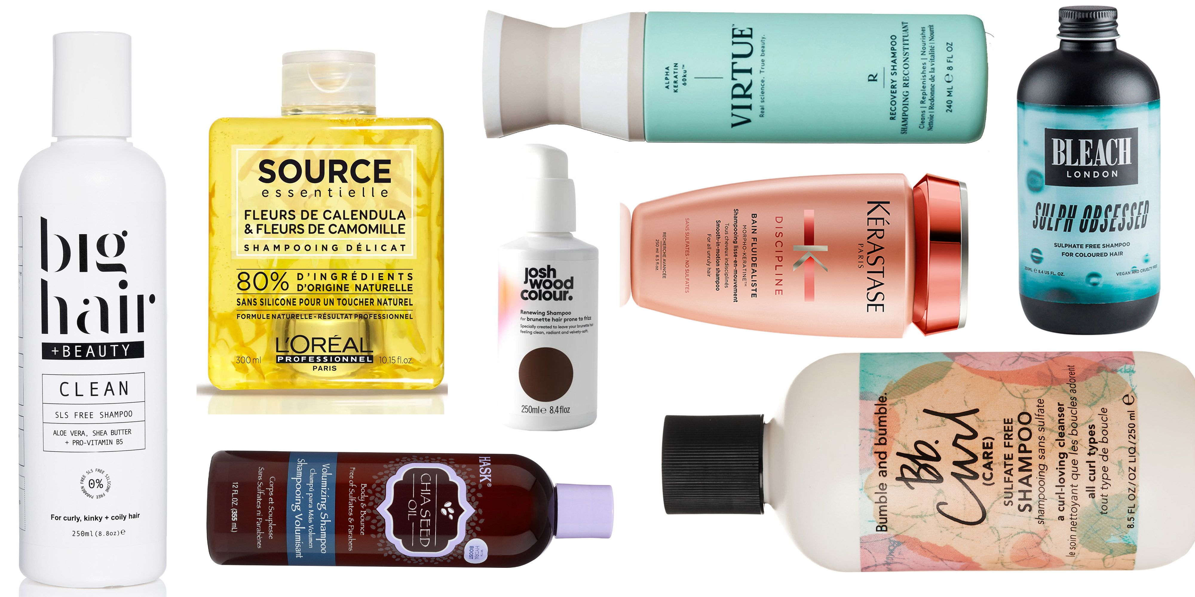 the best sulphate-free hair products - sls-free shampoos and styling