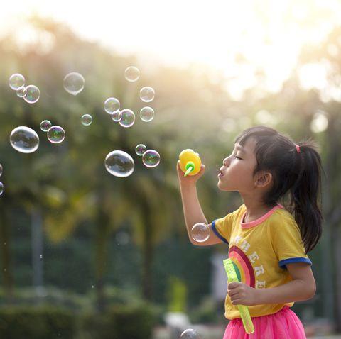 summer activities bubbles