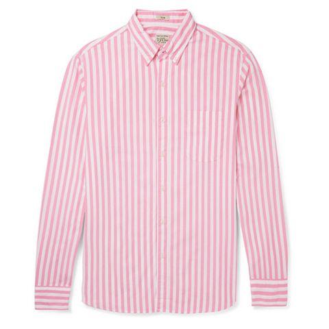 Clothing, Pink, Sleeve, White, Collar, Shirt, Outerwear, T-shirt, Dress shirt, Button,