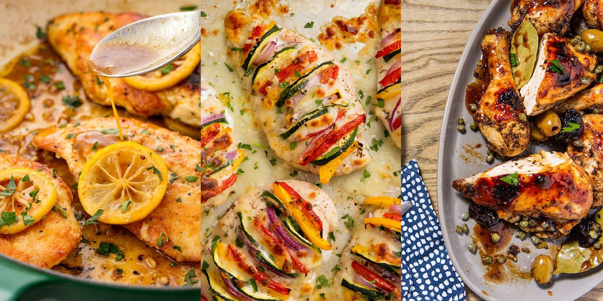These Summer Chicken Recipes Make Al Fresco Dining All The More Fun