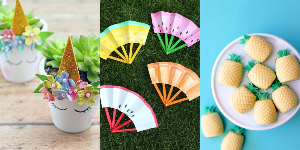 Fit Crafty Stylish And Happy Guest Bathroom Makeover: 15 Summer Crafts That Keep Your Kids Busy (and Happy) All