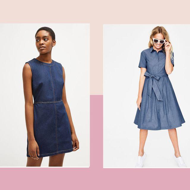 Denim dresses to shop now for summer