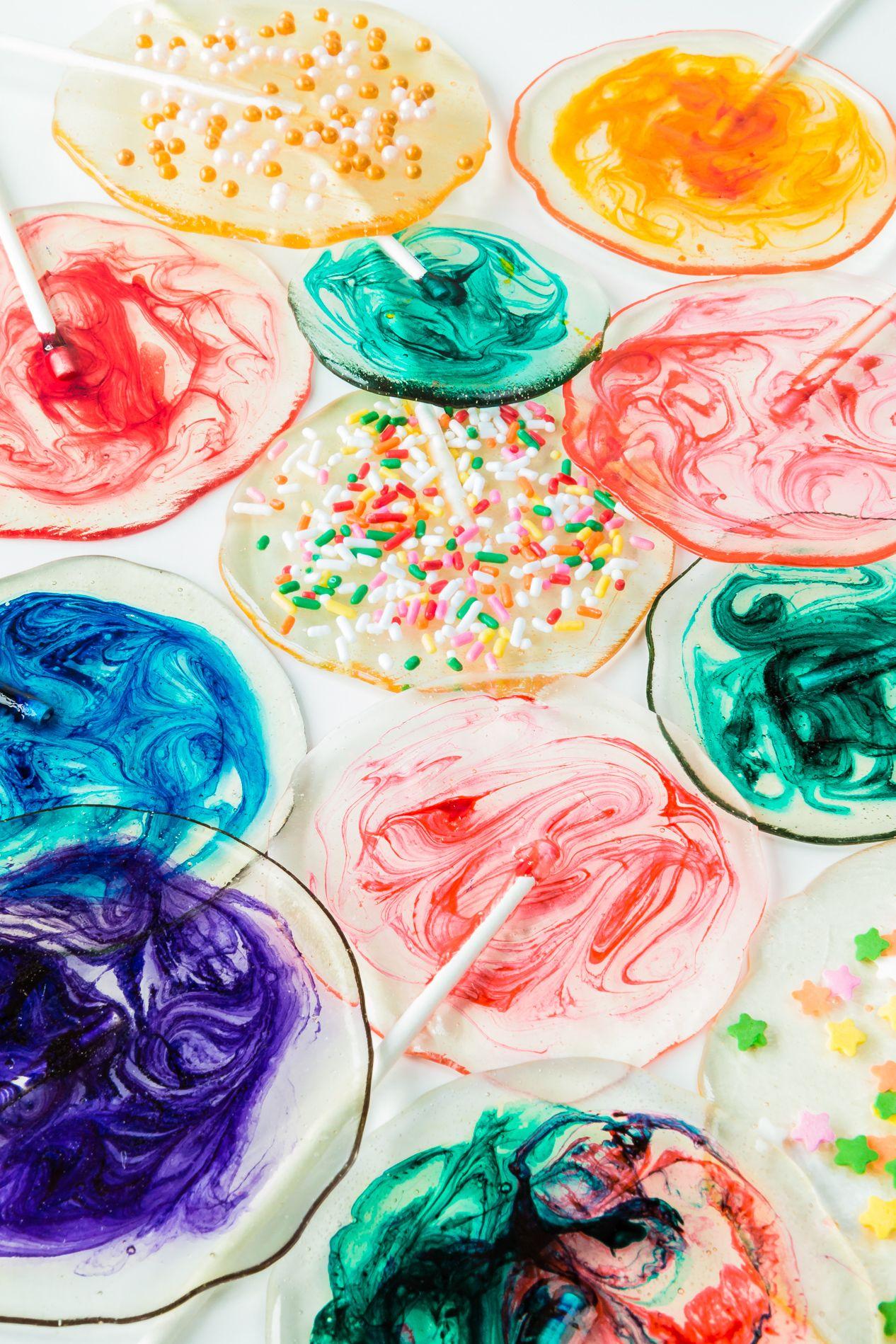 summer desserts homemade lollipops