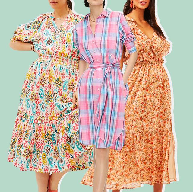 clothing, dress, fashion model, day dress, shoulder, fashion, pattern, sleeve, cocktail dress