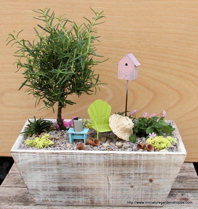 19 Miniature Grass Artificial Succulents For Fair Garden