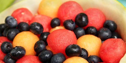 Mixed berries.