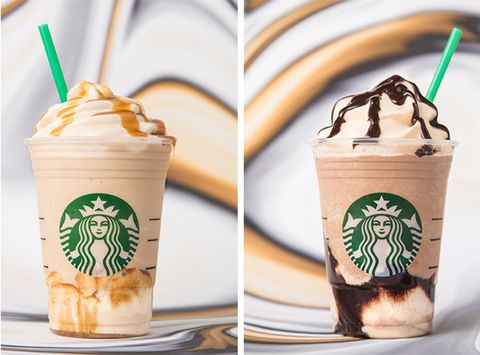 Starbucks Added New Caramel And Mocha Frappuccinos To Its Permanent Menu