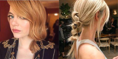 Hair, Face, Blond, Hairstyle, Chin, Long hair, Hair coloring, Beauty, Layered hair, Brown hair,