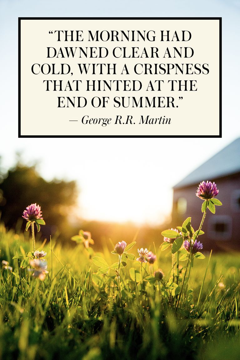 15 Best End Of Summer Quotes