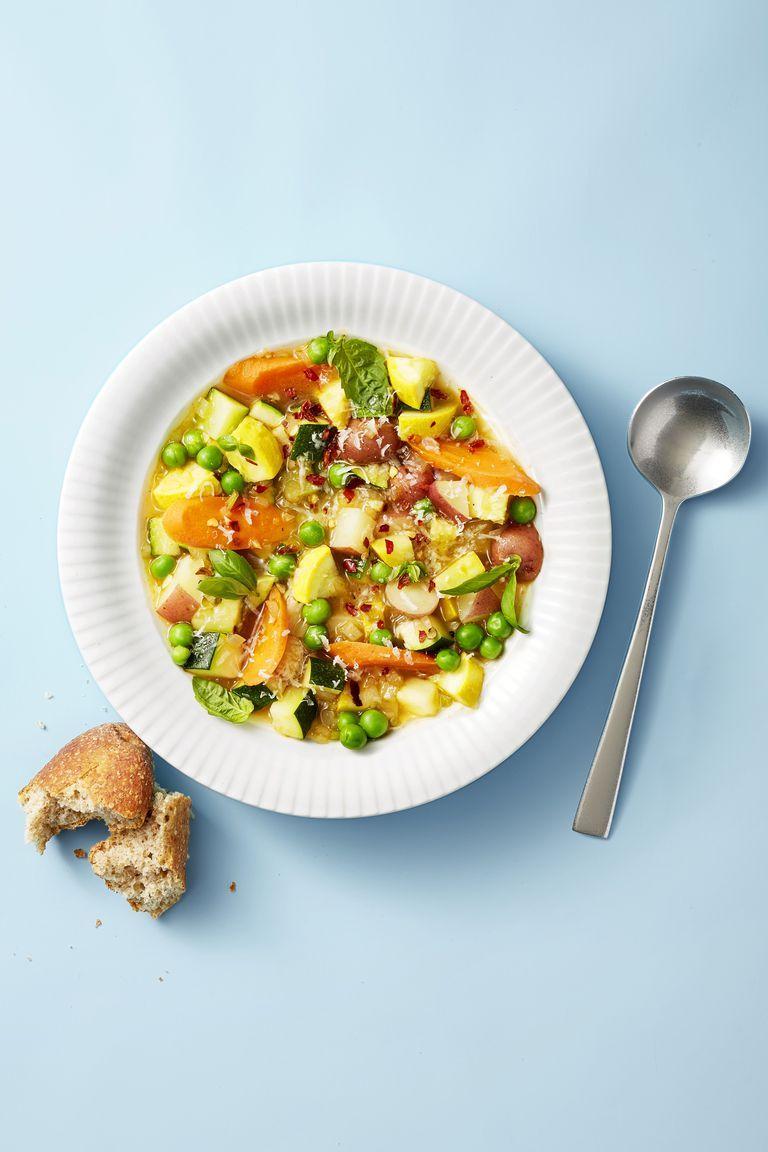 Summer Minestrone - Healthy Lunch Ideas