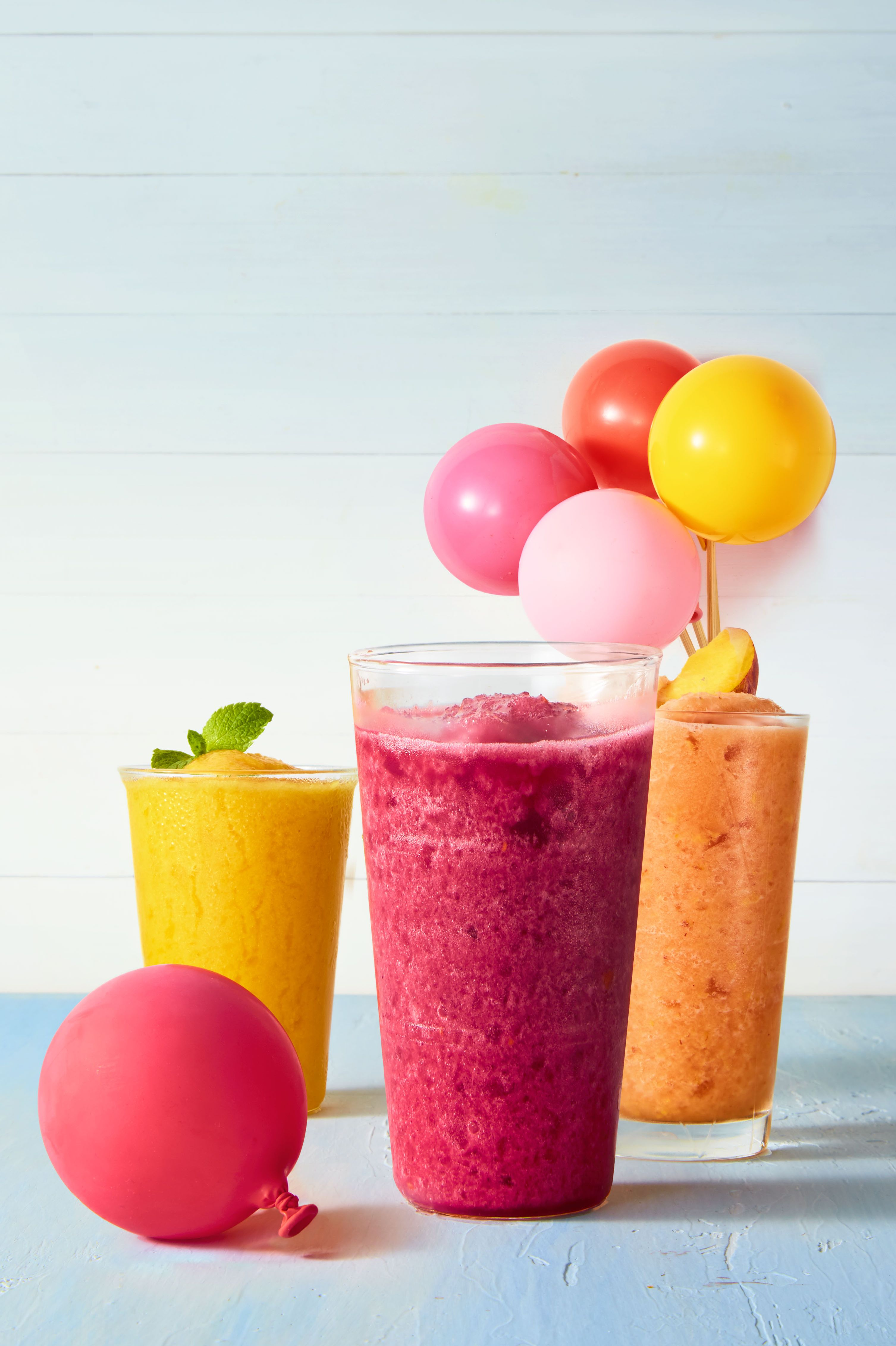Summer Party Frosty Fruit Slushies