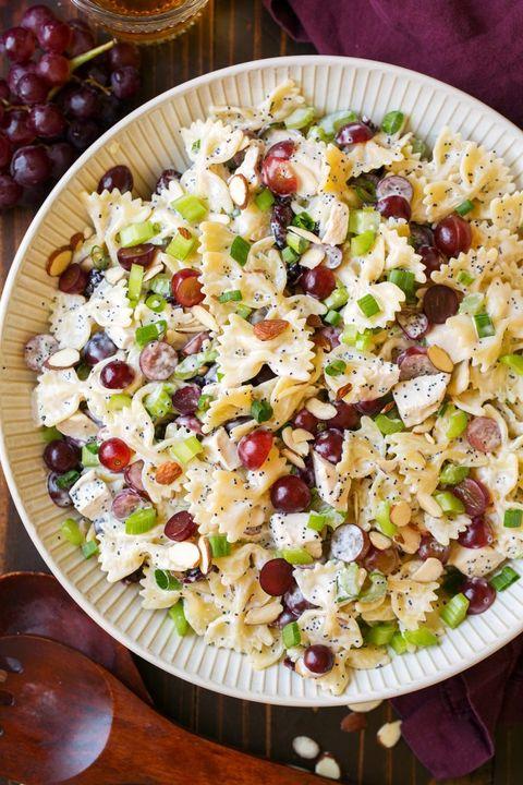 summer pasta salad poppy seed