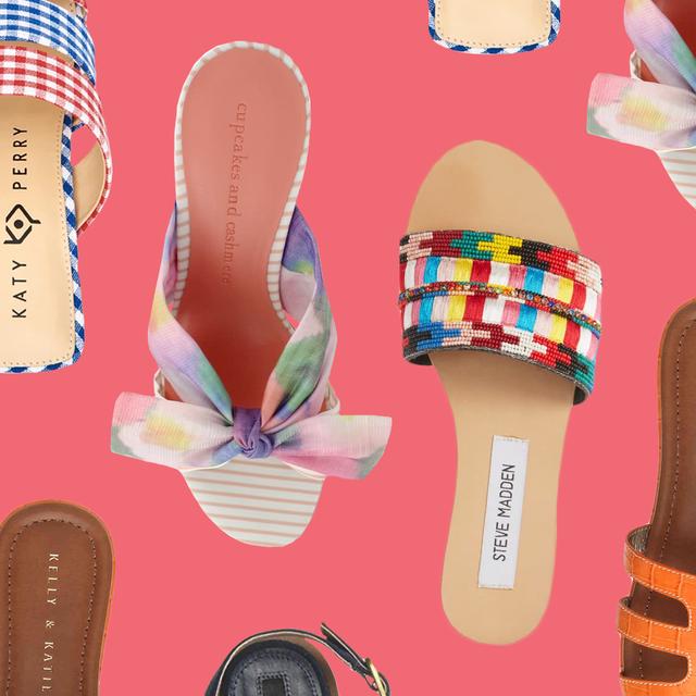 d848236efcd 11 Best Summer Sandals 2019 - Flat and Heeled Sandals for Summer