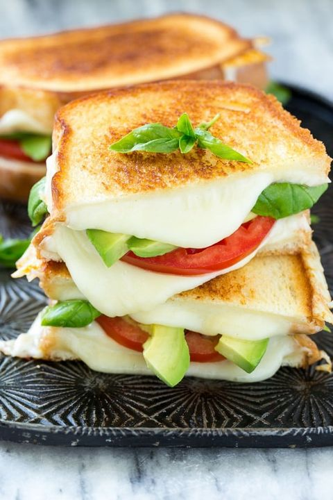 summer sandwiches caprese