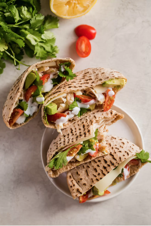 summer sandwiches chicken pita