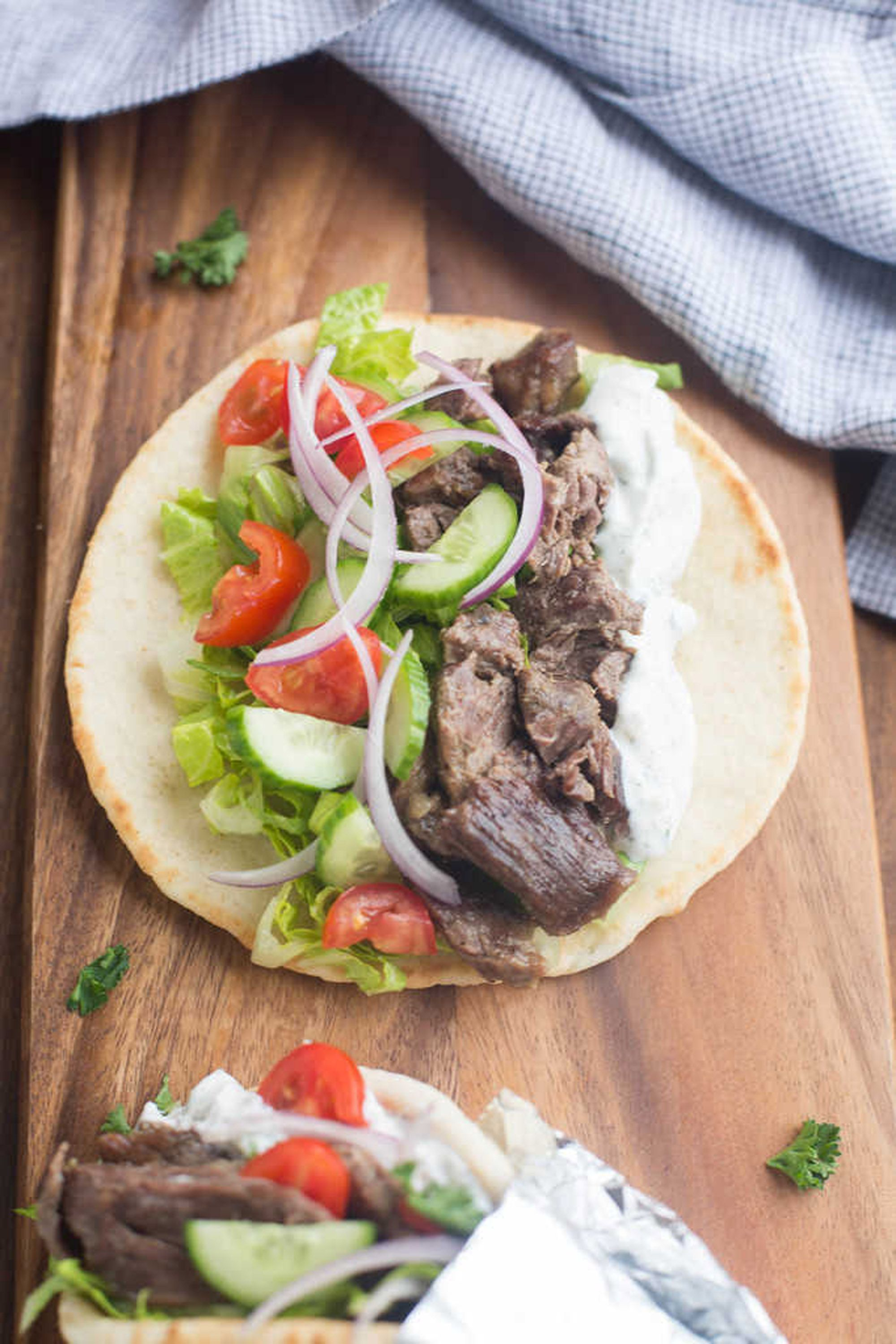 summer slow cooker recipes gyros