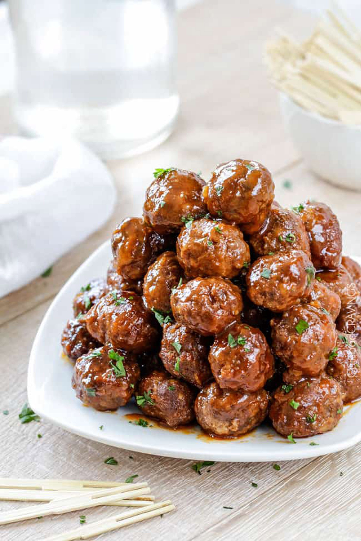 summer slow cooker recipes meatballs