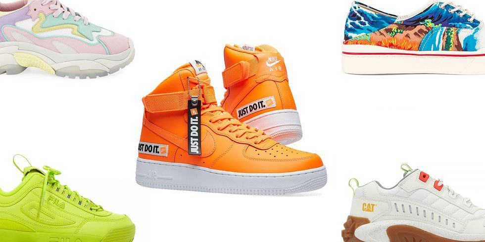 light sneakers for summer