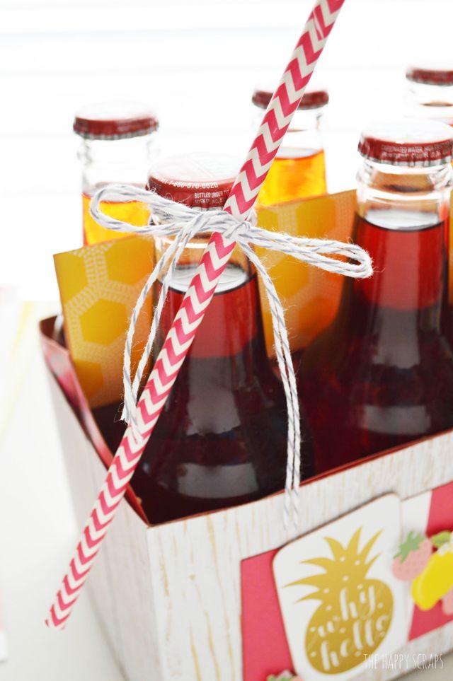 summer soda bbq party idea