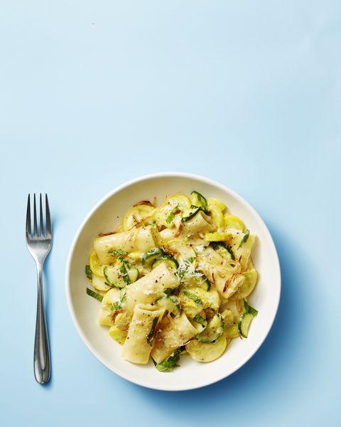 Summer Squash & Pecorino Pasta