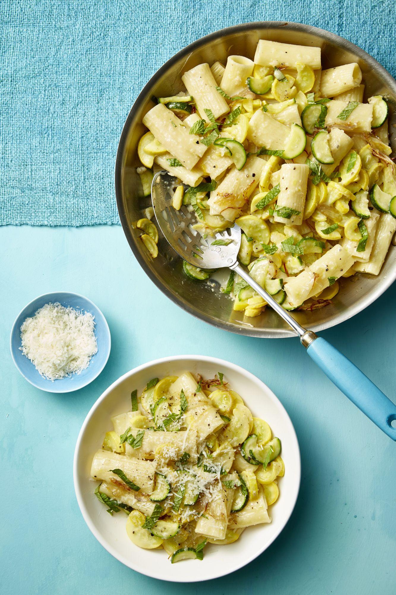 Best Summer Squash, Mint, and Pecorino Pasta Recipe - How to Make ...