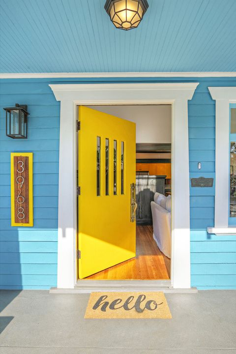 Front Door Colors - Yellow