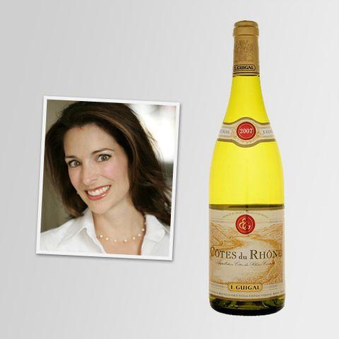 Jennifer Simonetti-Bryan: A Soft Cotes-du-Rhone Blanc