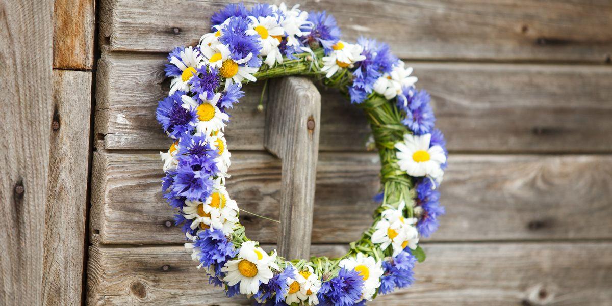 30 Diy Summer Wreath Ideas Outdoor Front Door Wreaths For Summer