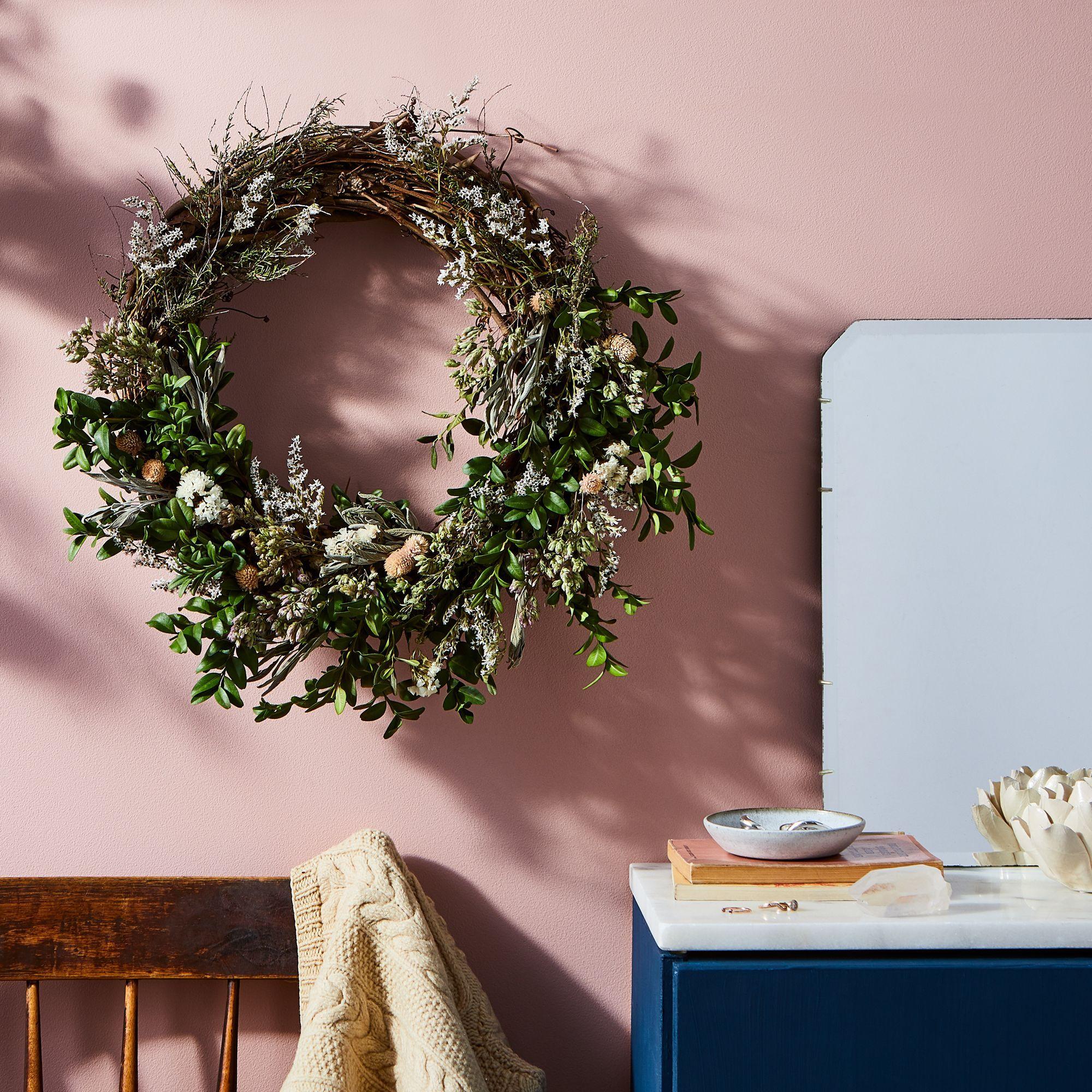 Summer Wreath For The Front Door Wreaths For Front Door Spring Wreath